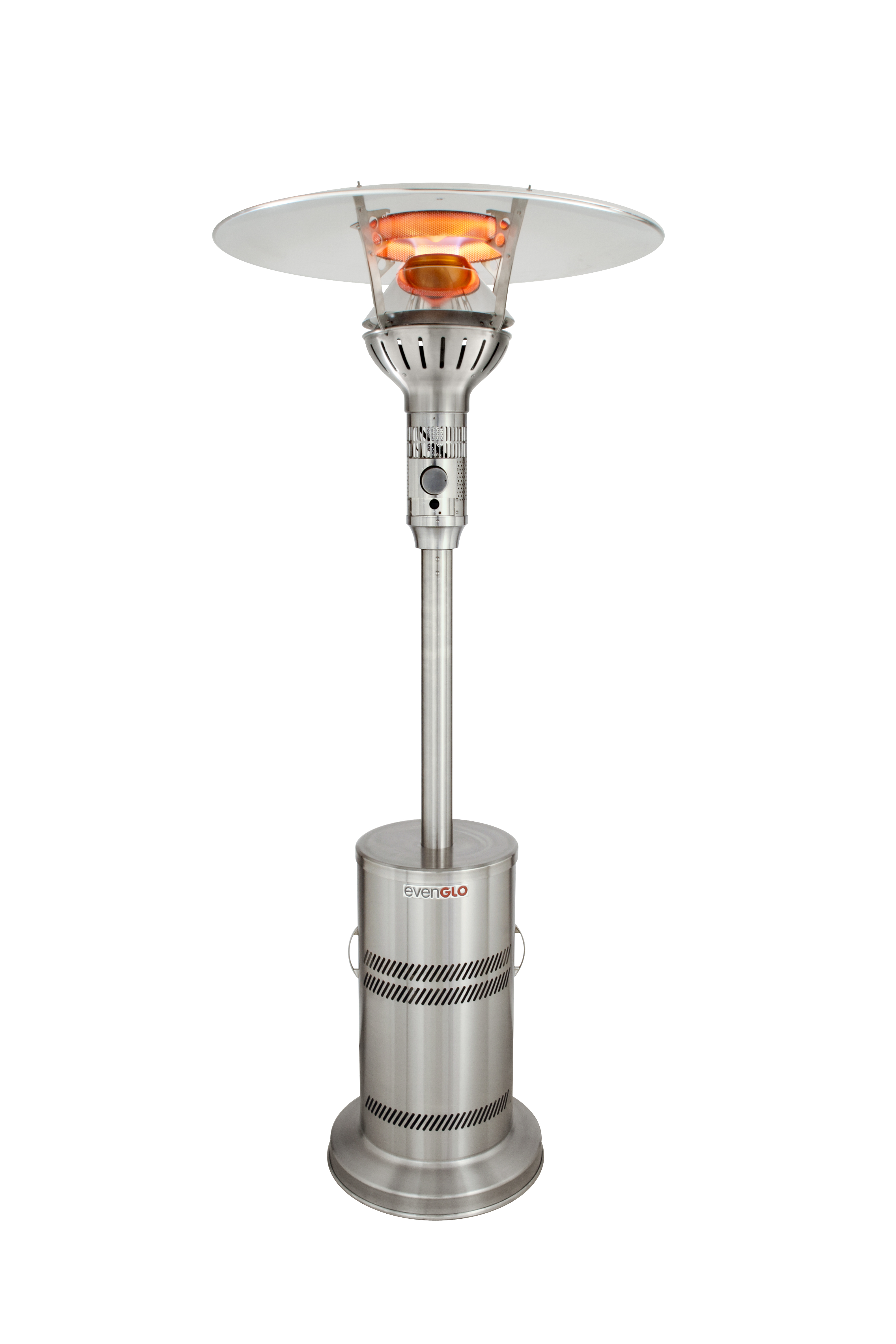 Even Glo Outdoor Patio Heater, Stainless Steel