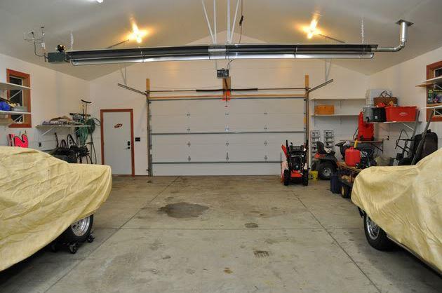 UAG Tube Heater | Radiant Garage Heater | Infrared Garage Tube Heater |
