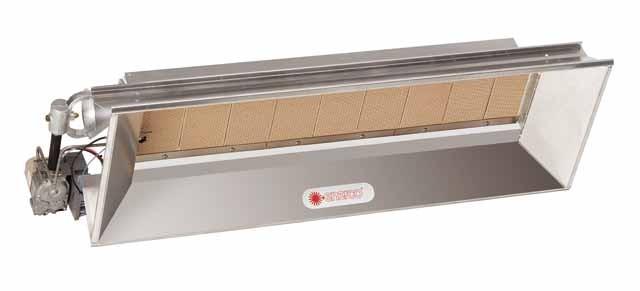 Model 4040 Millivolt Commercial Overhead Infrared Heater