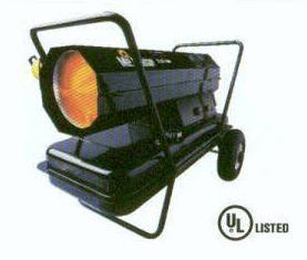 125,000 BTU Kersosene or Diesel Fired Salamander Heat