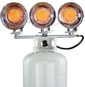 Mr. Heater 3 Burner Tank Top Propane Heater